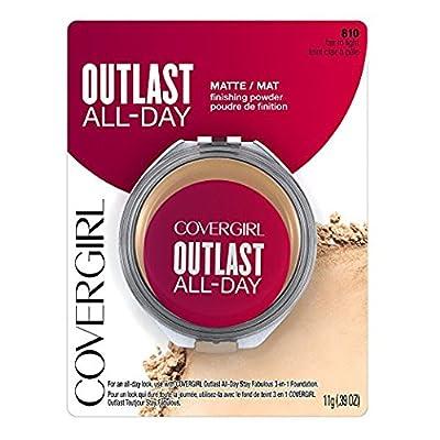 CoverGirl Outlast All-Day Matte Finishing Powder, 810 Fair to Light