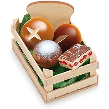 Amazon.com: Erzi pretender jugar de madera tienda de ...