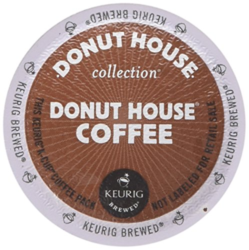 (Donut House Collection Donut House Coffee Keurig Single-Serve K-Cup Pods, Light Roast, 96 Count (Packaging May Vary))