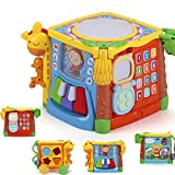 MzekiR 5 in 1 Music Drum Activity Cube Toy