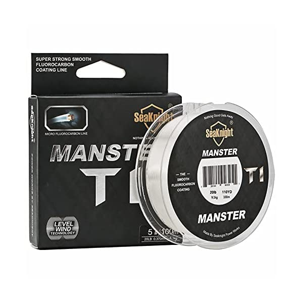 SeaKnight T1 Fluorocarbon Coated Fishing Line