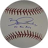 Bobby Crosby Autographed Baseball - Major League 04 AL ROY W COA - Autographed Baseballs