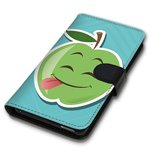 Wallet Book Style Flip Handy Tasche Case Schutz Hülle Schale Motiv Etui für Apple iPhone 4 / 4S - Design Flip MVD252