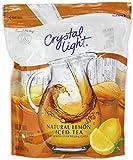 10 Wholesale Lots Crystal Light Natural Lemon Iced Tea Drink Mix, 160 Pitcher Packs Total