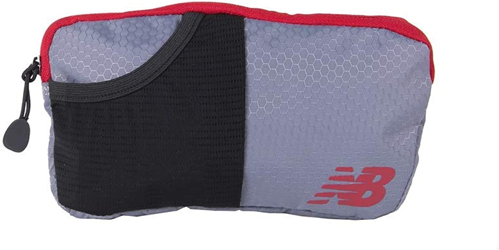 New Balance Mens and Womens Performance Waist Pack//Fanny Pack Multicolor Zip Compartment Bag One Size