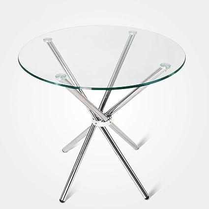 Terrific Amazon Com Gwdj Side Table Tempered Glass Side Table Download Free Architecture Designs Itiscsunscenecom