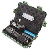 Sonolife - Kit de Linterna Táctica de Alta Luminosidad con Batería y Cargador Incluídos