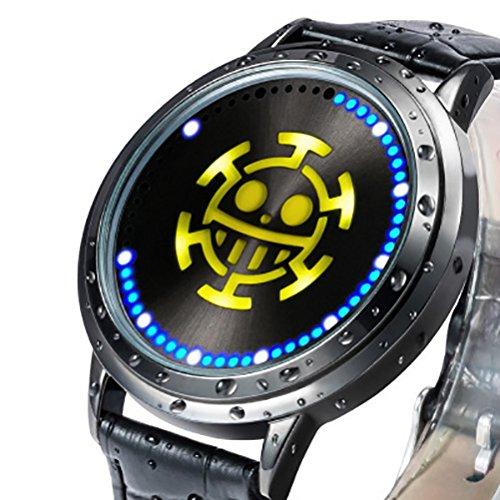 wildforlife Anime One Piece Trafalgar ley de coleccionista Edition Touch LED Reloj