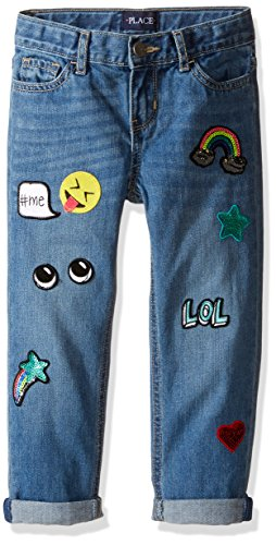 Patchwork Girls Jeans - 6