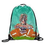Boxer Gym Sack Bag,Drawstring Backpack,Sport Bag For Men & Women Sack Pack