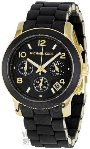 Reloj-Michael-Kors-Para-Mujer-Con-Pulsera-Negra-De-Goma-MK5191