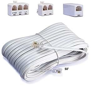 telephone cord accessory kit for landline. Black Bedroom Furniture Sets. Home Design Ideas