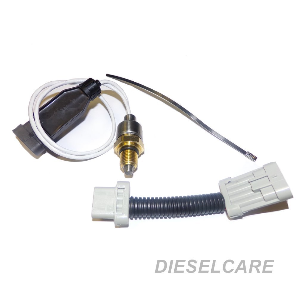 Diesel Care Turbo Charger Vane Position Sensor Fits 2004.5-2013 Chevy GMC Trucks With 6.6L Duramax Diesel Engine (Replaces 12643471, 12635324, 98011739, 98061570, 763527-0512 by DCP product