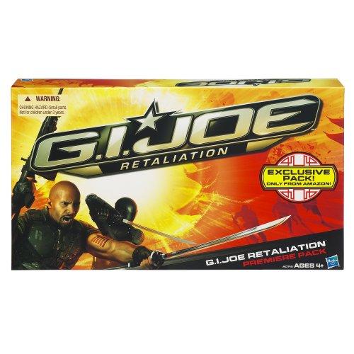 G.I. Joe Retaliation Movie Sneak Peek 3.75 inch Figure 4 pac ()