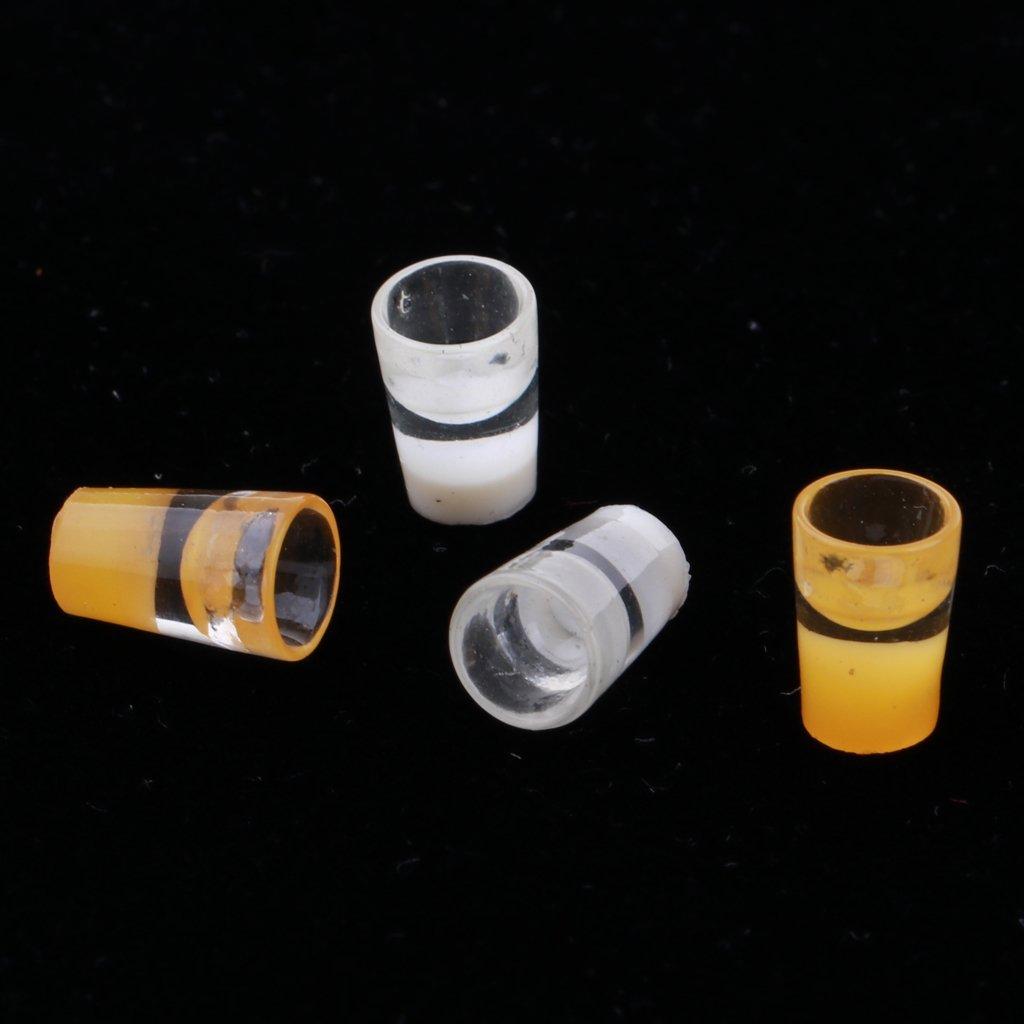 4 Piezas D D DOLITY Escala 1:12 Miniaturas Modelo de Vaso de L/íquido de Pl/ástico Decoraci/ón para Dollhouse
