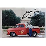 'Hook Em' Earl Campbell Univ of Texas Houston Oilers Signed 8x10 Photo 17E - JSA Certified - Autographed NFL Photos