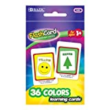 Bazic Colors Preschool Flash Cards - 36/Pack 72 pcs sku# 705488MA