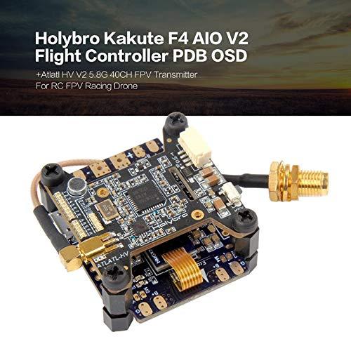 Wikiwand Holybro Kakute F4 AIO V2 Flight Controller OSD+Atlatl HV 5.8G 40CH Transmitter by Wikiwand (Image #3)