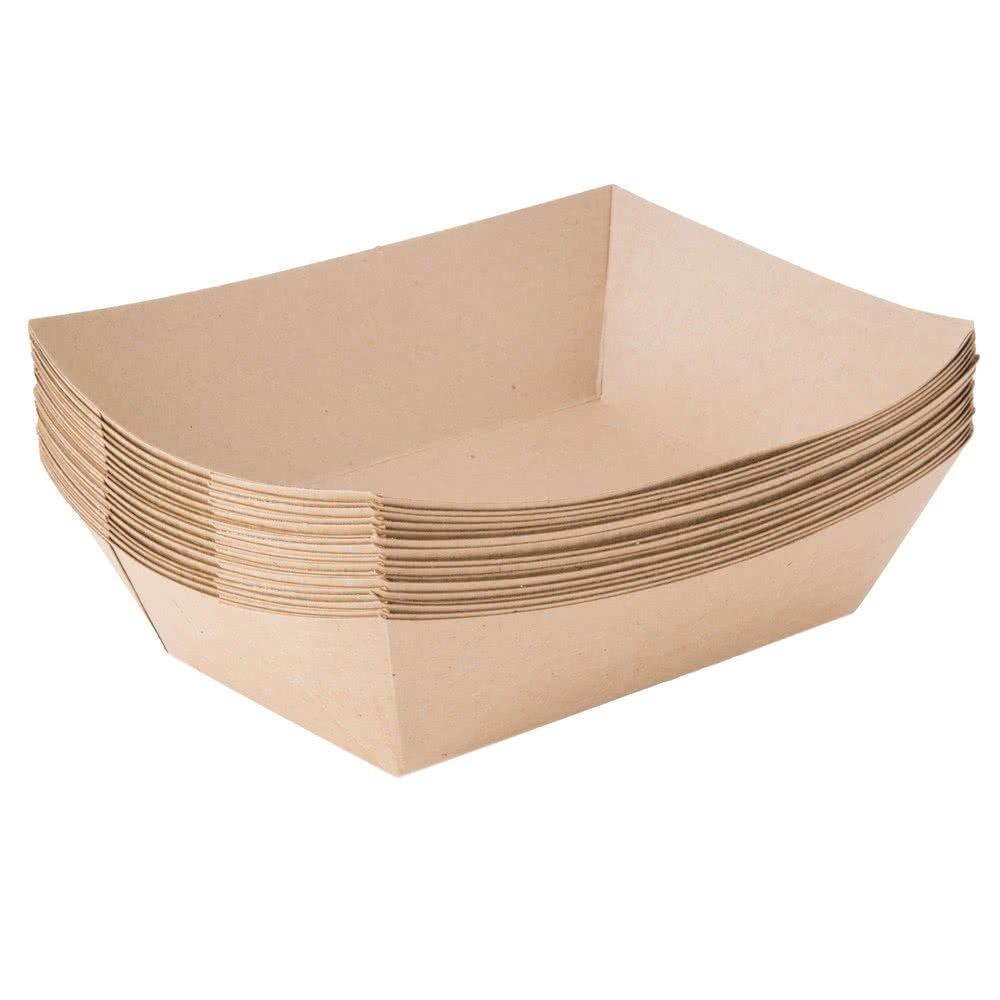 Papel alimentos bandejas 2 1/2 lb, papel de estraza, biodegradable ...