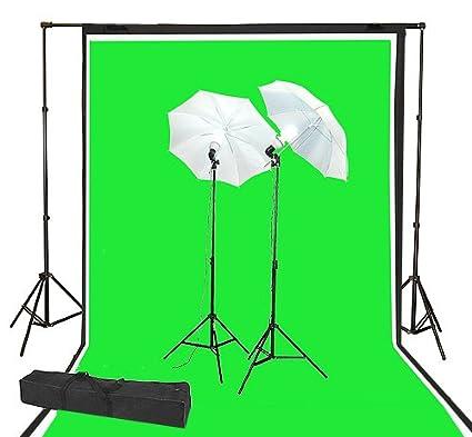 4ce78abe0f2 ePhoto 3pcs Large Muslin 10 x 20 ft Studio Photography Video Chromakey Green  Screen