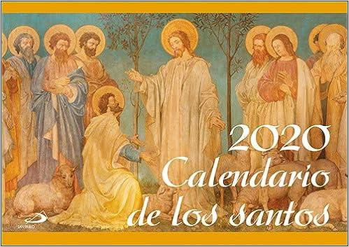 Calendario pared De Los Santos 2020 Calendarios y Agendas: Amazon.es: Equipo San Pablo: Libros