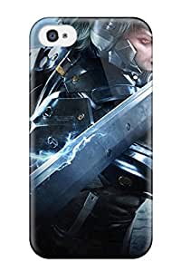 Lawrence Bray Case Cover For Iphone 4/4s - Retailer Packaging Metal Gear Rising Protective Case WANGJING JINDA