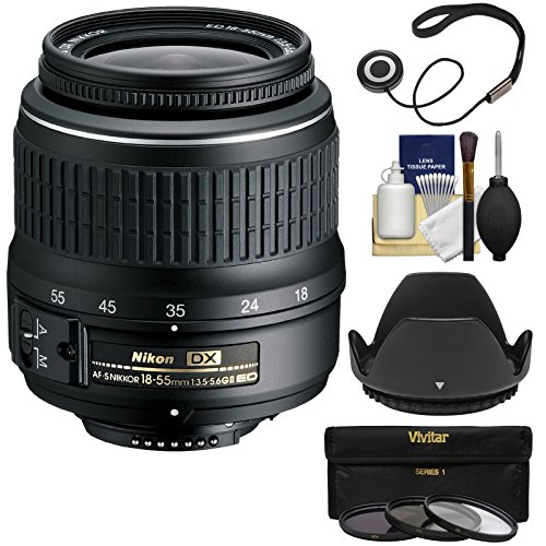 Nikon 18 55mm 3 5 5 6G Zoom Nikkor Filters