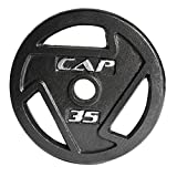 Cap Barbell Free Weights 2.5-Pounds Olympic Grip Plate