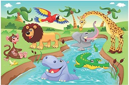 Amazoncom Alphabet Animals ABC Wall Decals Peel and