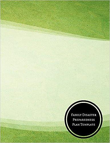 family disaster preparedness plan template disaster preparedness
