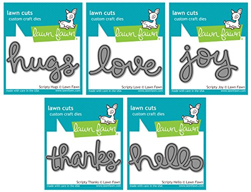 Lawn Fawn Scripty Bundle Thanks product image