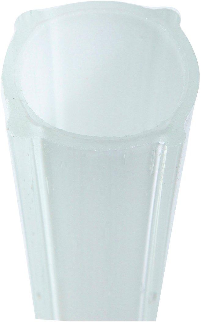 Vaso Vintage in vetro colorato L4,5xPR9x60 cm