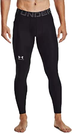 Under Armour Men's Ua Hg Armour Leggings Comfortable and Robust Gym Leggings, Lightweight and Elastic Thermal Underwear with Compression fit