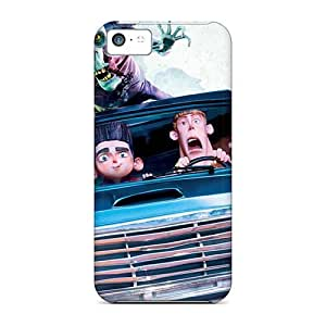 Awesome Cool 3d Family Flip Cases With Fashion Design For Iphone 5c