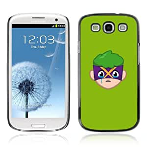Designer Depo Hard Protection Case for Samsung Galaxy S3 / Face