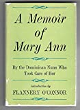 img - for A Memoir of Mary Ann book / textbook / text book