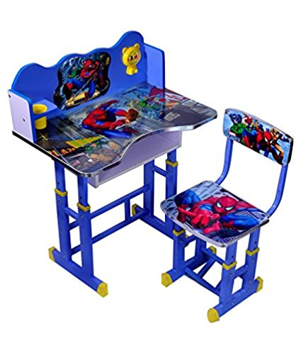 Child Fun Spiderman Kids Table And Chair Set - Computer Table Chair ...