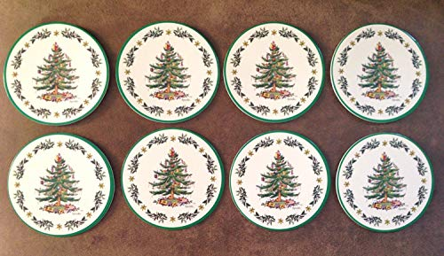 (Spode/C.R. Gibson Christmas Tree Round Cardboard Coasters - Pack of)