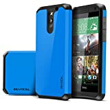 Evocel® HTC Desire 610 [Dual Layer Series] Hybrid Armor Protector for HTC Desire 610 - Retail Packaging, Brilliant Blue (EVO-HTC610-SA02)