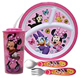 Girl's Minnie Mouse Dinnerware Set! Includes