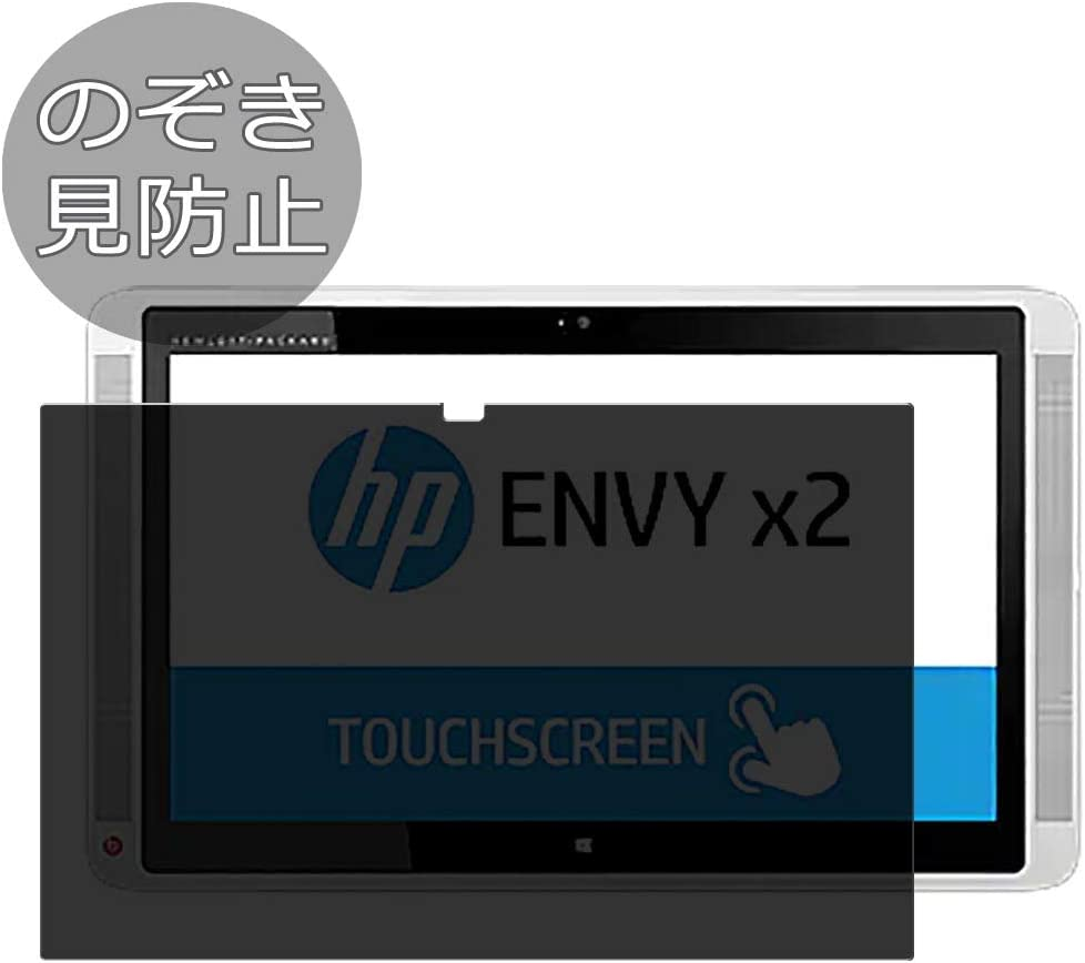 """Synvy Privacy Screen Protector Film for HP Envy x2 13-j000 / j002dx / j002tu / j012dx / j000na / j020ca / j001tu 13.3"""" Anti Spy Protective Protectors [Not Tempered Glass]"""