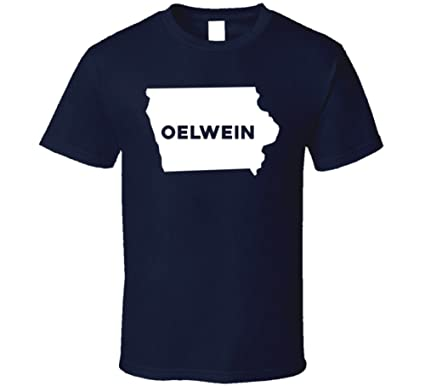 Oelwein Iowa Map.Amazon Com Oelwein Iowa City Map Usa Pride T Shirt Clothing