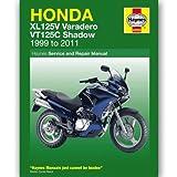 Honda XL125V Varadero & VT125C Shadow Service and Repair Manual 1999-2014