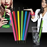 """Variety Pack Glow Straws and Bracelets - 9"""" - 25 Pack"""