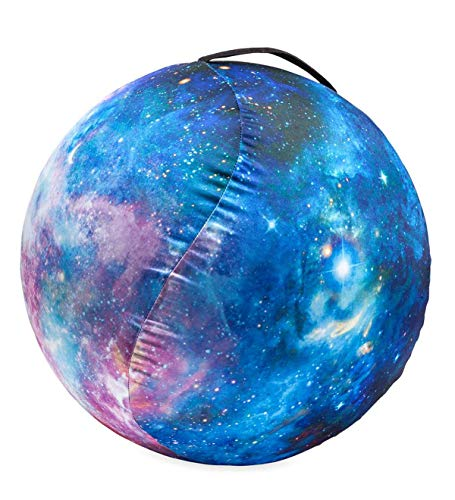 HearthSong Inflatable Space Ball - Nebula, Multicolor