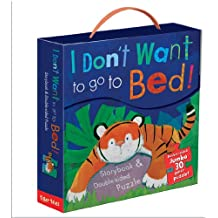 I Don't Want to Go to Bed! Book and Puzzle Set: Storybook and double sided puzzle