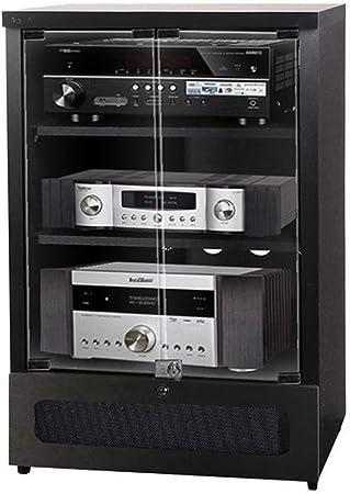 OTENGD Gabinete para Equipo de Audio y Video de 3 Niveles, Soporte ...