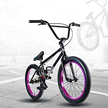 GASLIKE Bicicleta BMX Freestyle de 20 Pulgadas para Ciclistas ...