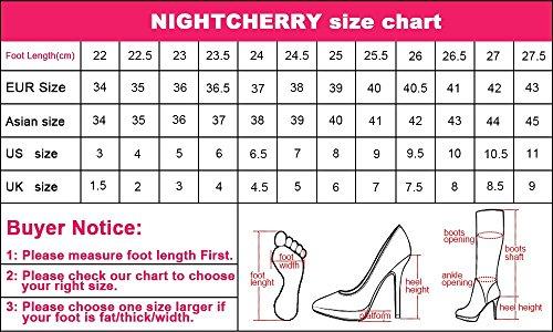 Escarpins Black Femmes Chaussures Nightcherry Talons Hauts Mode q7CpfwF