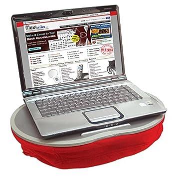 Amazon.com: Cushioned portátil, Bandeja de Regazo – Rojo ...